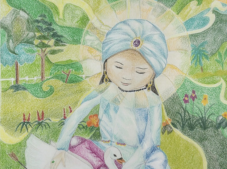 Prince Siddhartha and the Swan